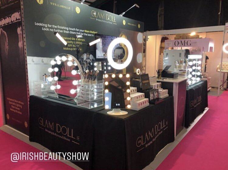 3d display for Expo - 3d Display Design for The Irish Beauty Show