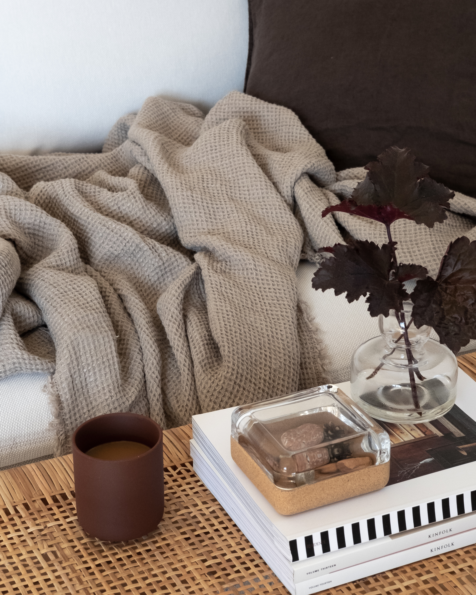 Living room details in natural and brown colors by Studio Anu Reinson.jpg