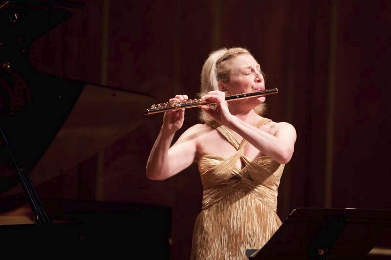 Recital at Jordan Hall, Boston. Photo Jesse Weiner.