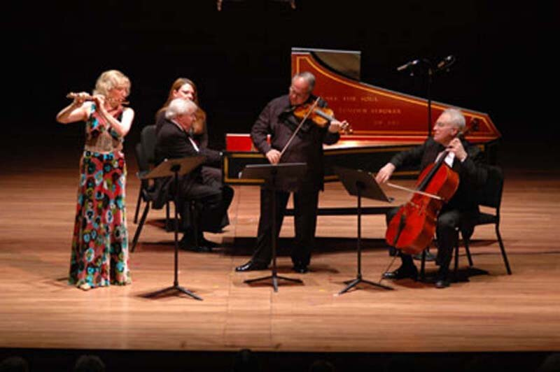 Bach with the Chamber Music Society of Lincoln Center, New York.