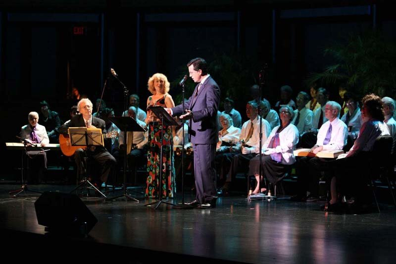 Camphill Foundation Benefit with Stephen Colbert and Frederic Hand. Rose Hall, Jazz at Lincoln Center. Photo Lotus.