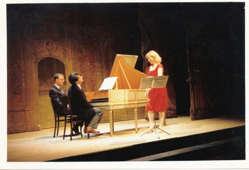 Bach with John Gibbons, harpsichord. Spoleto Festival, Italy. Photo Marcello Lang.