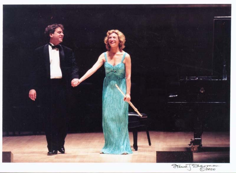 "Debussy's ""L'Isle Joyeuse"" with Jeremy Denk, piano at Carnegie Hall, New York. Photo Steve J. Sherman."