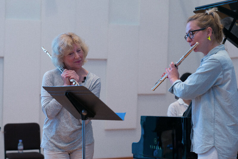 Woodwind Workshop at New World Symphony 2014 photo by Ed Freedman