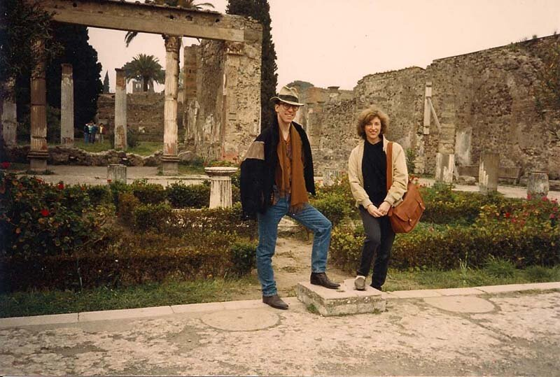 with Eliot Fisk, Pompeii.
