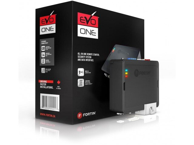 EVO-ONEALL-IN-ONE REMOTE STARTER, SECURITY SYSTEM AND DATA INTERFACE - The EVO-ONE is the ultimate and smallest ALL-IN-ONE HIGH POWER data immobilizer bypass, doorlock, security system & remote start interface. Compatible with all EVO-ALL T-Harnesses and also providing a new broad access to High Power T-HarnessesTHIS PRODUCT MUST BE SOLD, INSTALLED AND SUPPORTED BY A PROFESSIONAL.