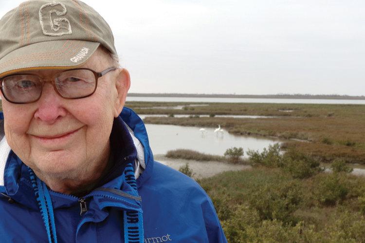 Warren Stortroen became an environmental superstar at age 86.