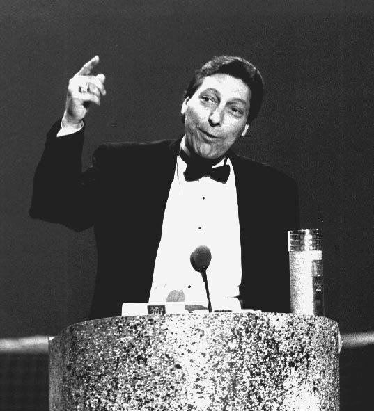 Coach V gives his ESPY speech in 1993.