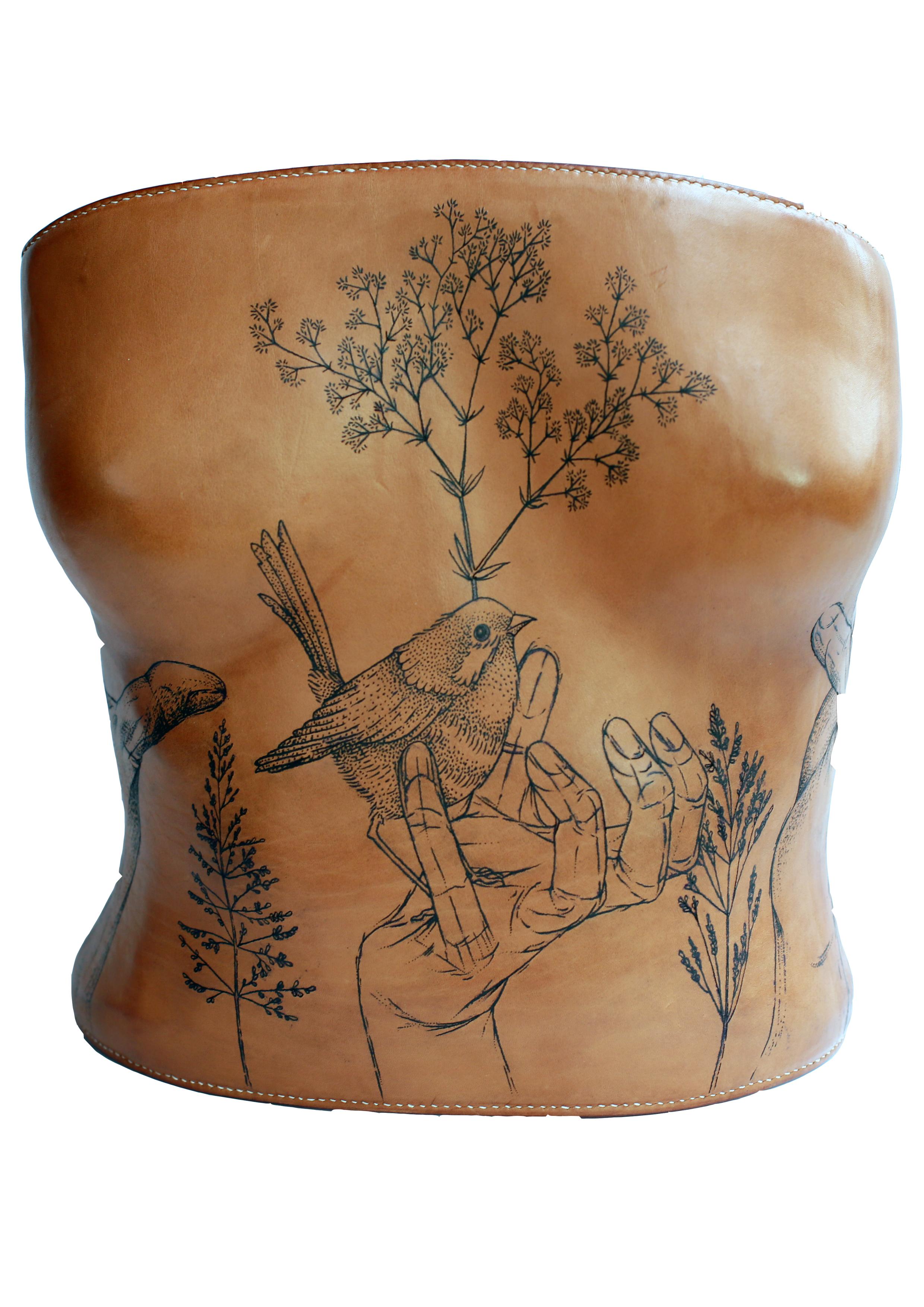 ARTISTE : L'artisantatoueur  MODÈLE : Anne-Flore MARXER