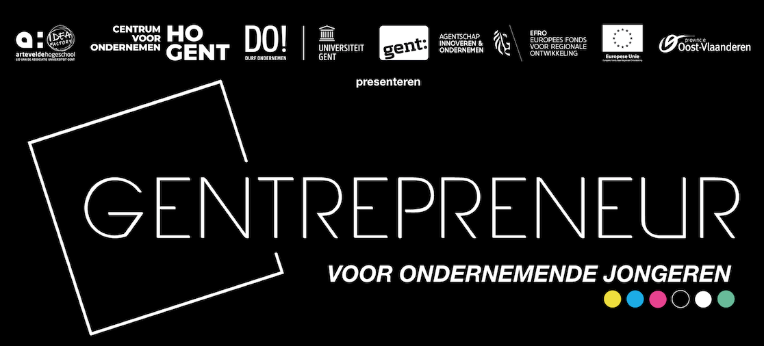 Over ons & contact - The Company is een aanbod van Gentrepreneur, de samenwerking tussen Arteveldehogeschool, HOGENT, de Universiteit Gent en Stad Gent met de steun van Provincie Oost-Vlaanderen, het Agentschap Ondernemen en Innoveren en het Europees Fonds voor Regionale Ontwikkeling.Gentrepreneur inspireert Gentse jongeren om te ondernemen en biedt basisinformatie over ondernemen.