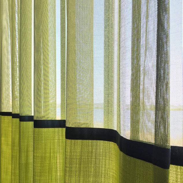 Copy of Kimik Design Gordijn No.46 Limoen Groen