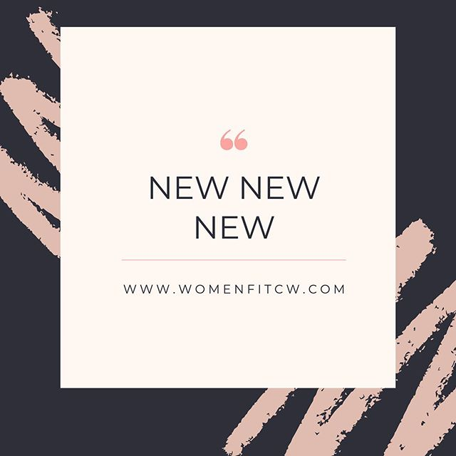 We are now LIVE 🙌  Super excited for the launch of our new website https://www.womenfitcw.com/  As we are celebrating all things NEW we are offering 10% off all PT packages in October and November 💪  To find out more visit our beautiful NEW site!  Thanks to the super talented @wilsonandward 👏