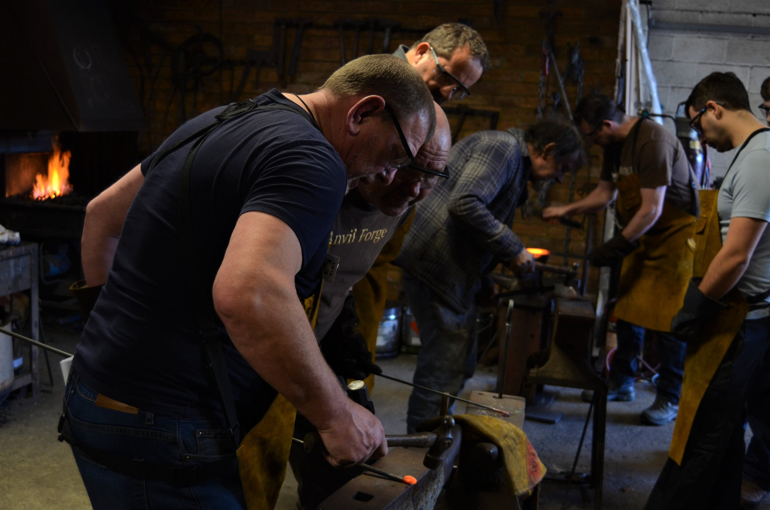 Courses - We provide a range of different classes to accommodate some of the many different disciplines within the metalworking and blacksmithing spectrum.