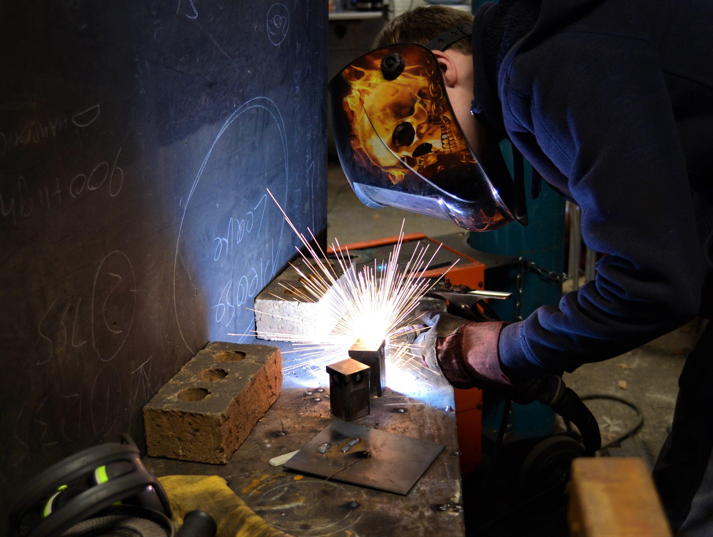 Alex welding