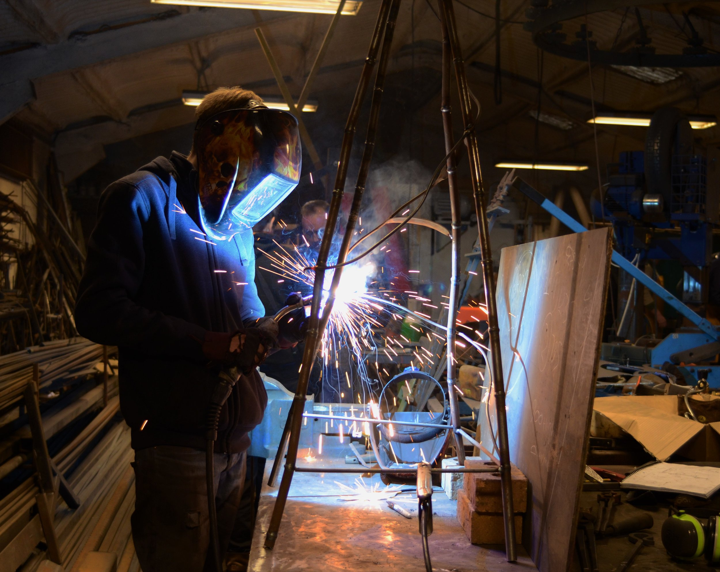 Commissions - Anvil Metalworks Ltd is an award winning manufacturer of metalwork hand made to the highest standards for the last 30 years.