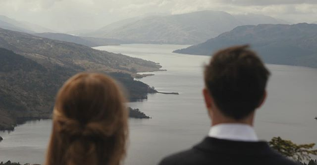 Take a deep breath and rest, appreciating the path you have both been on, and the journey that lies ahead once you are married. Nicolle & Ian taking a moment atop a hill to appreciate all that has been, and all that is to come ❤️ #destinationweddingvideographer #weddinginspiration #weddingfilmmaker #destinationwedding #weddingvideo #ukweddingvideographer #scotlandwedding #brawbrides #wefellinlove #scottishwedding #elopetoscotland