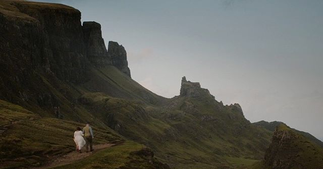 // A place like no other on the Isle of Skye // Nicole & Patrick on their own adventure in Scotland, braving the elements for some of the most breathtaking views #Scotland has to offer. The Isle of #Skye is a magical place, and I'm so glad I could capture Nicole & Patricks elopement for them to share with friends and family back home ❤️ #destinationweddingvideographer #weddinginspiration #weddingfilmmaker #destinationwedding #weddingvideo #ukweddingvideographer #scotlandwedding #brawbrides #wefellinlove #scottishwedding #elopetoscotland #scottishelopement #teambb