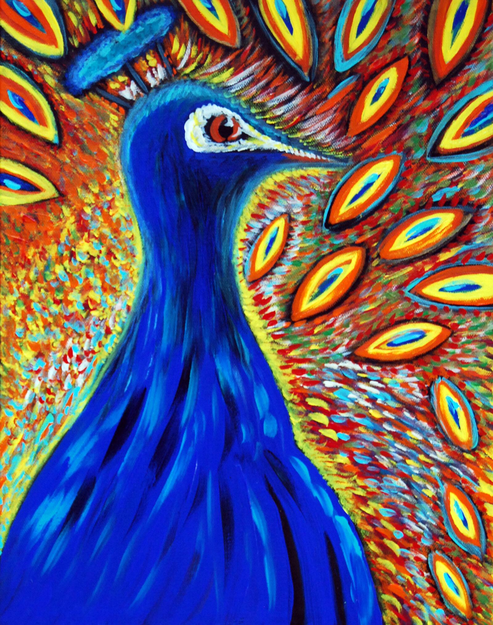 """""""Peacock Reprise"""" (C)2018"""