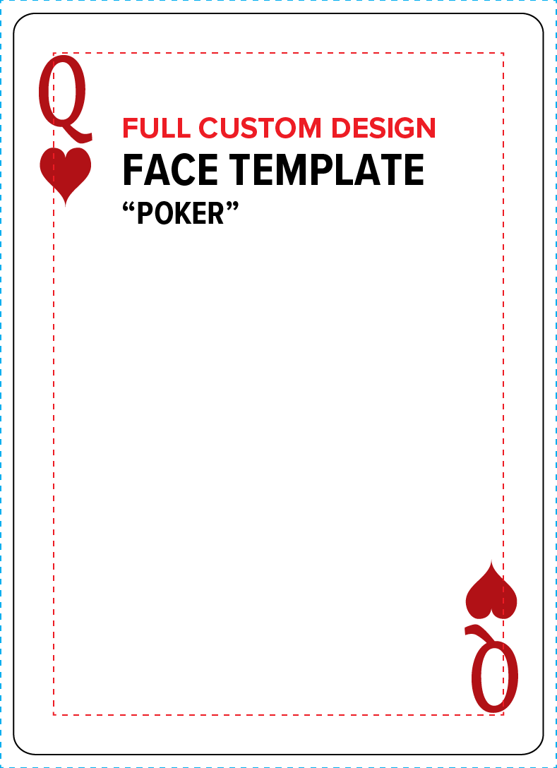 Templates — Playing Cards On Demand Intended For Deck Of Cards Template
