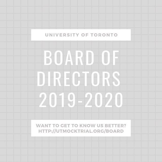 ⚖️Meet the Board for 2019-2020⚖️