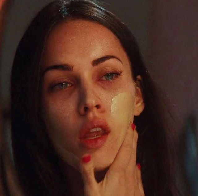 How I feel applying foundation in the morning Megan Fox in Jennifer's Body (2009)  #beauty #fashion #makeup #clothes #cosmetics #selfcare #clothes #00s #2000s #2000smovies #meganfox #jennifersbody