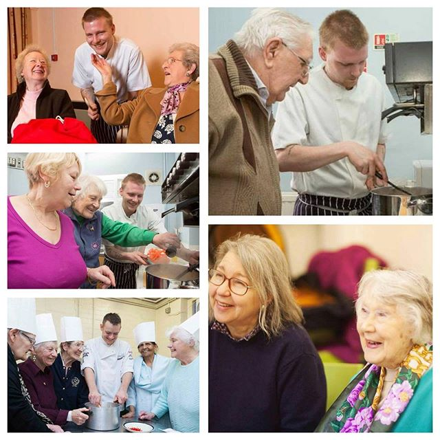 Today is the International Day of Older Persons - an opportunity to highlight the important contributions that older people make to society & raise awareness of the opportunities & challenges of ageing in today's world. Here are photos from our Warm Up For Winter project where chefs volunteer their time to inspire older people with quick, nutritious winter dishes ideal for those living alone or on a budget.  #UNIDOP