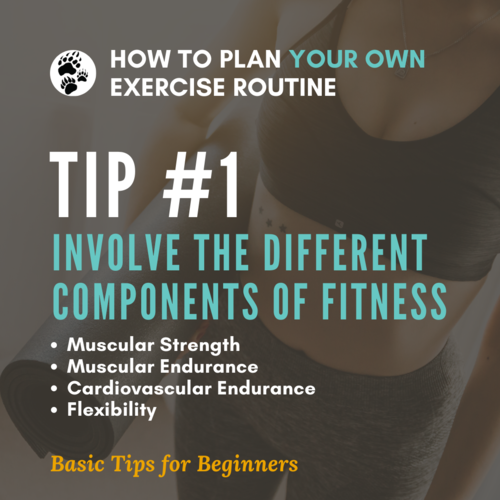 How To Plan Your Own Exercise Routine Tip 1.png