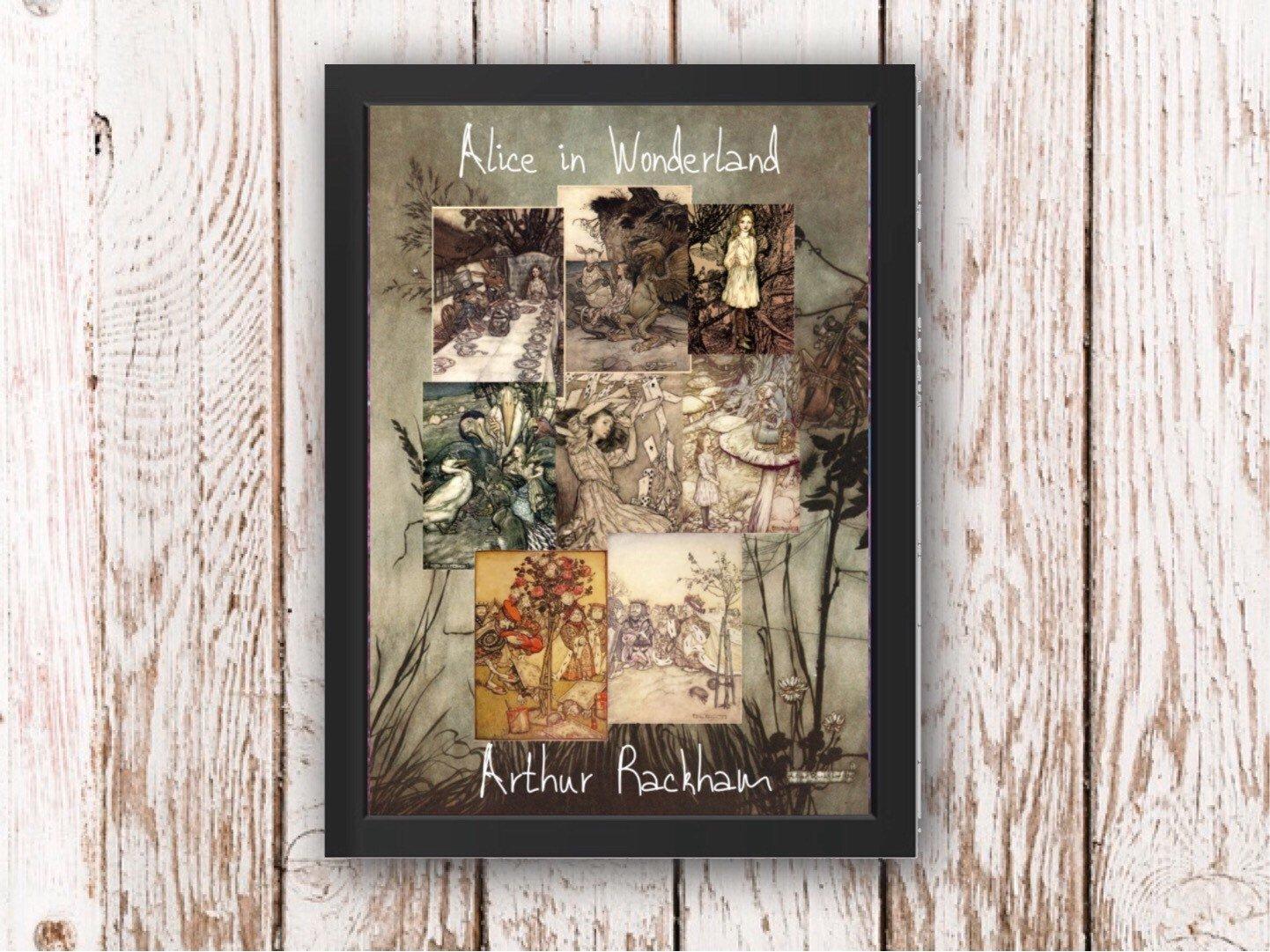 ARTHUR RACKHAM ALICE IN WONDERLAND II FINE ART PRINT