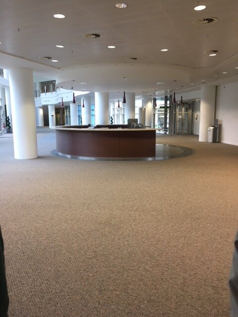 View from examination room to rally floor.JPG