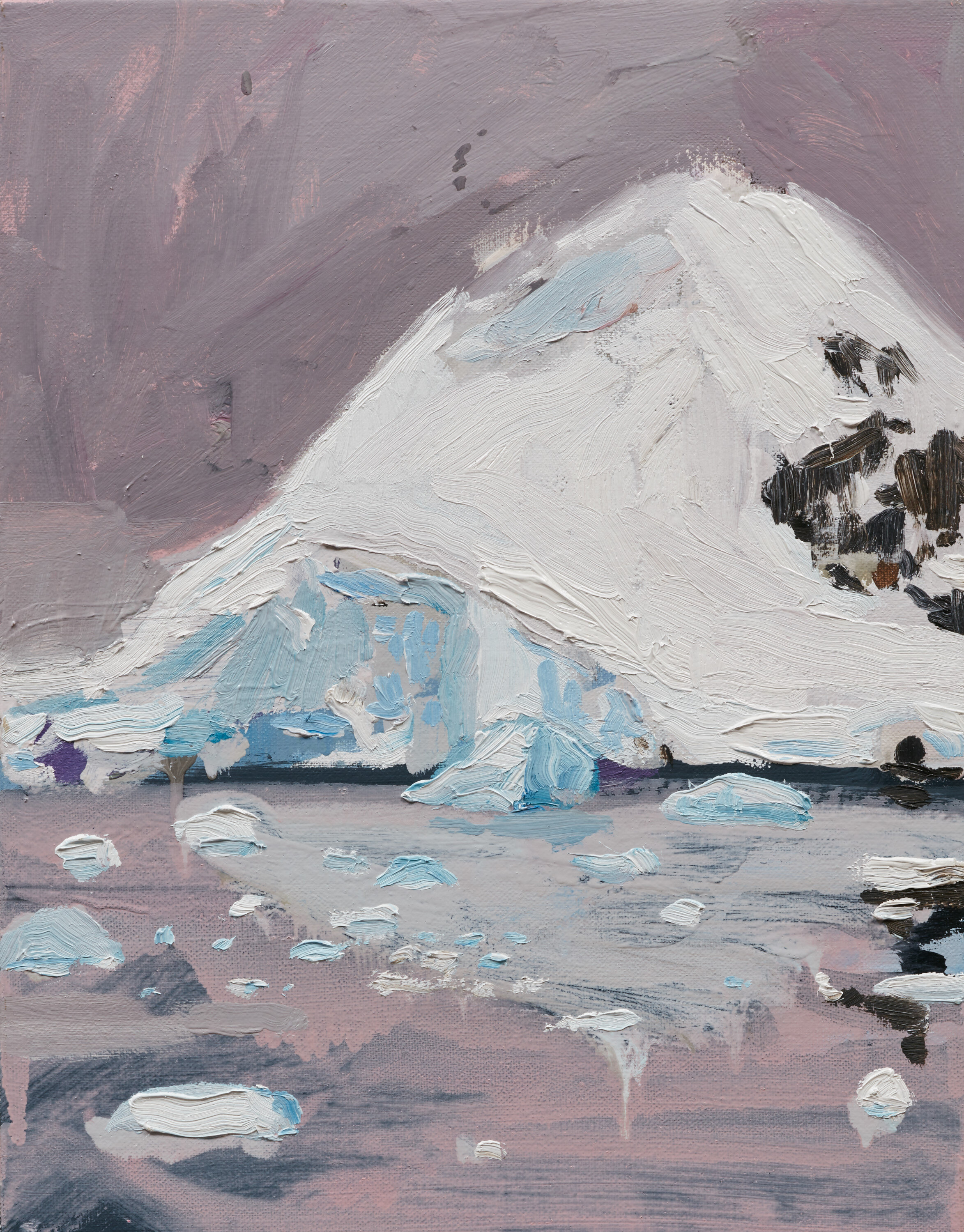 First Antarctica Painting