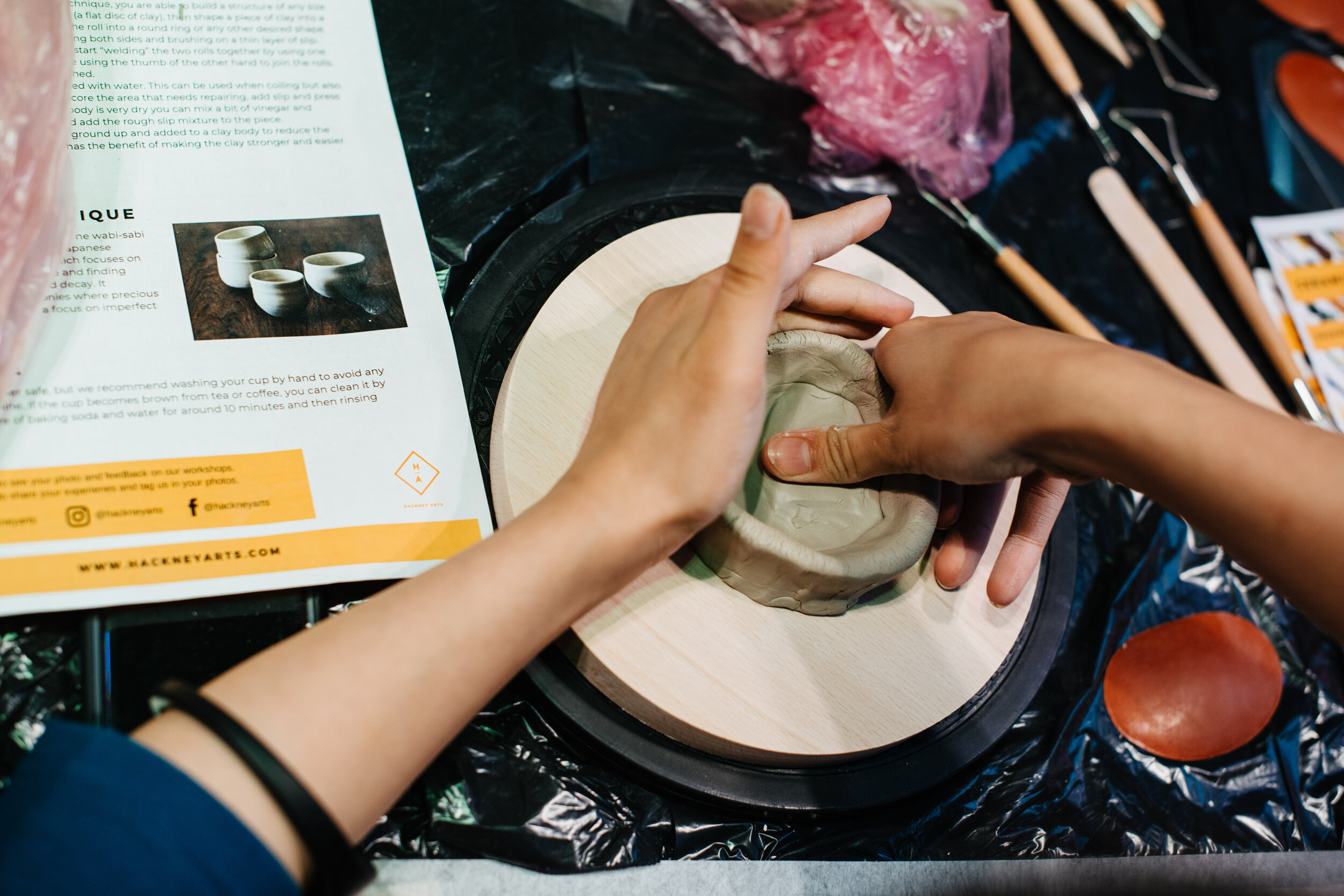 Ceramics Workshops - Learn to make a cup with your colleagues in this inspiring workshop