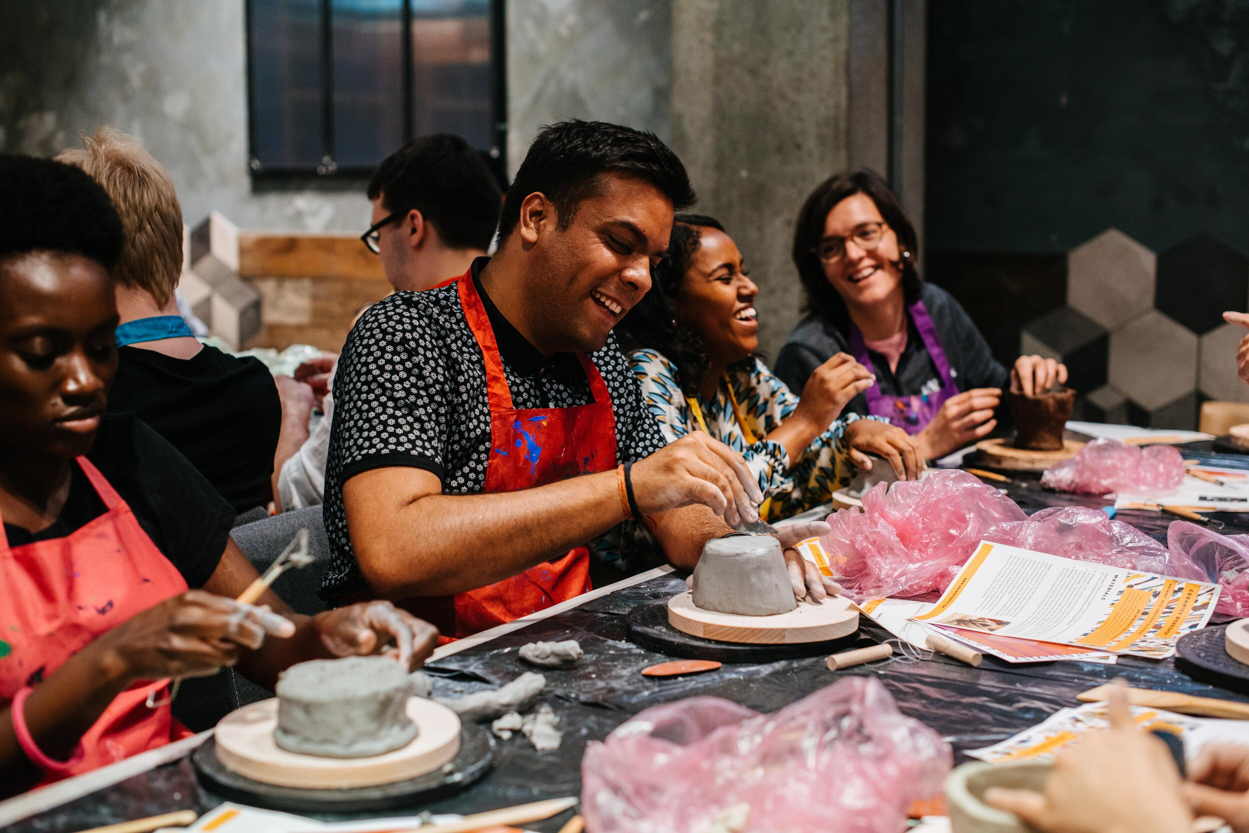 Want to know more about the benefits of learning creative skills? - Our Founder Sophie Thompson talks about the unique positive effects on wellbeing that creative workshops can offer.Read all about it here.