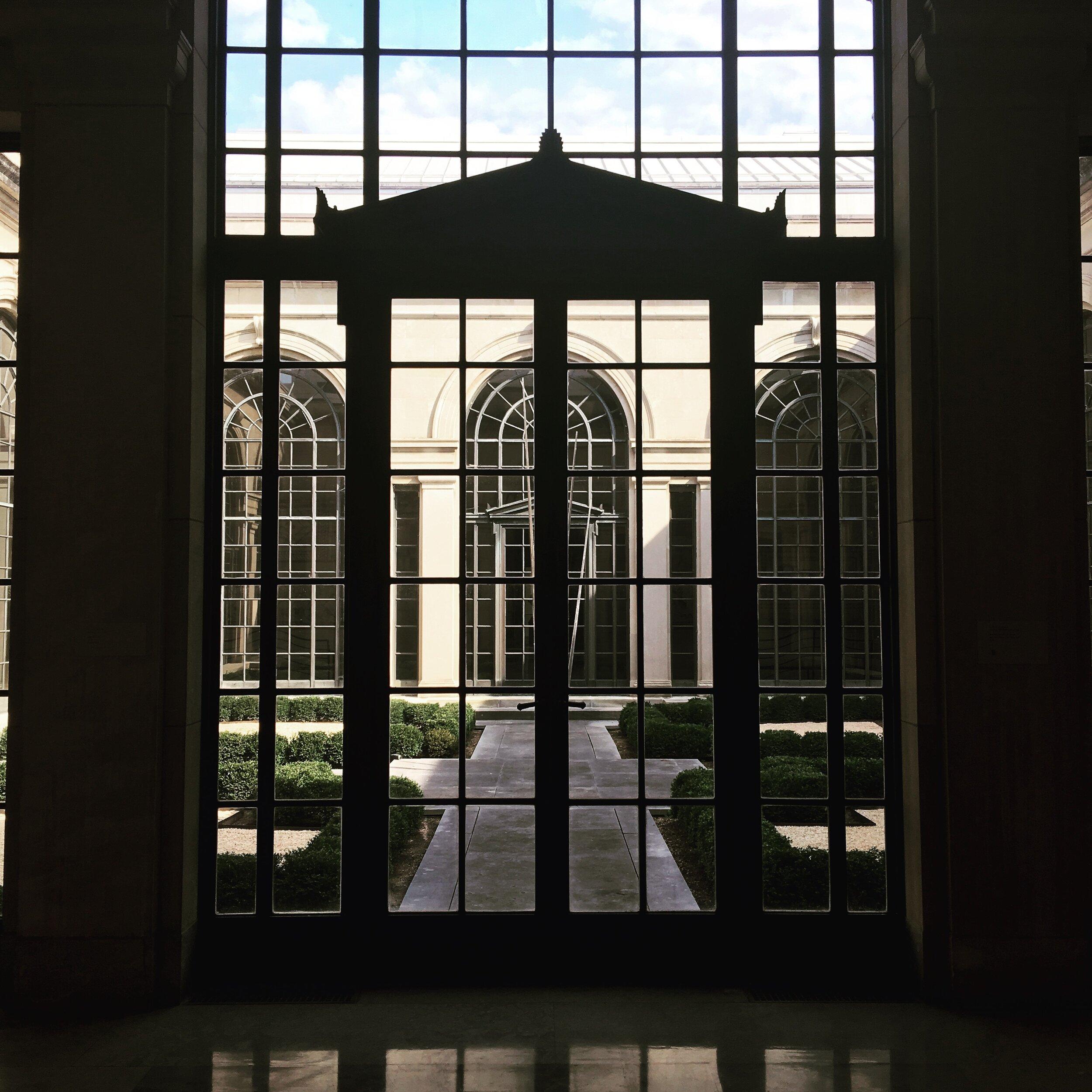 Baltimore Museum of Art at the Johns Hopkins University Homewood Campus (D. Draudt, October 2016)