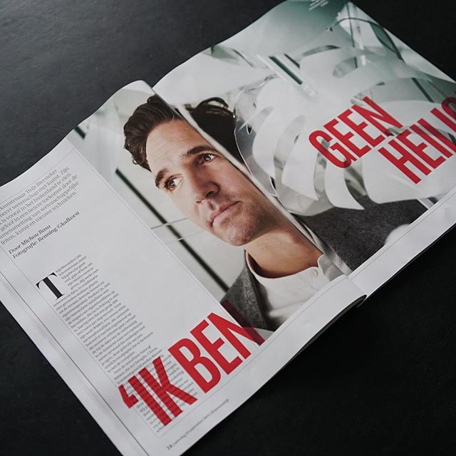 Wait this just happened ! ⚡️🖤⚡️ Super Proud to be featured in the @fdpersoonlijk ( The Dutch Financial Ttimes ) with 8 pages about Me, my work, the bad tea I'm drinking and the new studio Sophie de Krom and I are kicking off soon.  This weekend in print, below is the preview interview ( Dutch only ) on the web.  Wait this just happened !  Super Proud to be featured in the Het Financieele Dagblad ( The Dutch Financial Ttimes ) with 8 pages about Me, my work, the bad tea I'm drinking and the new studio @sophie_de_krom and I are kicking off soon.  This weekend in print, below is the preview interview ( Dutch only ) on the web.  Thanks @michoubasu, @financieeledagblad and @benning.gladkova , @polinagladkova  for the great article and pictures and all those helped me to made the work work.  #ecoart #wovenstudio #artinstallation #art