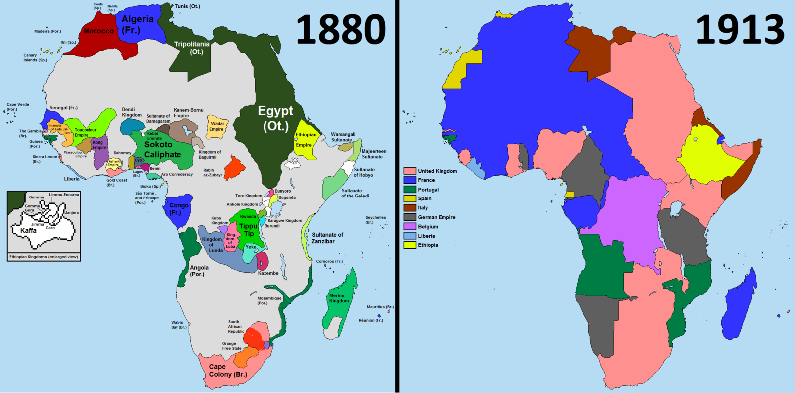 scramble for Africa :  wikimedia commons