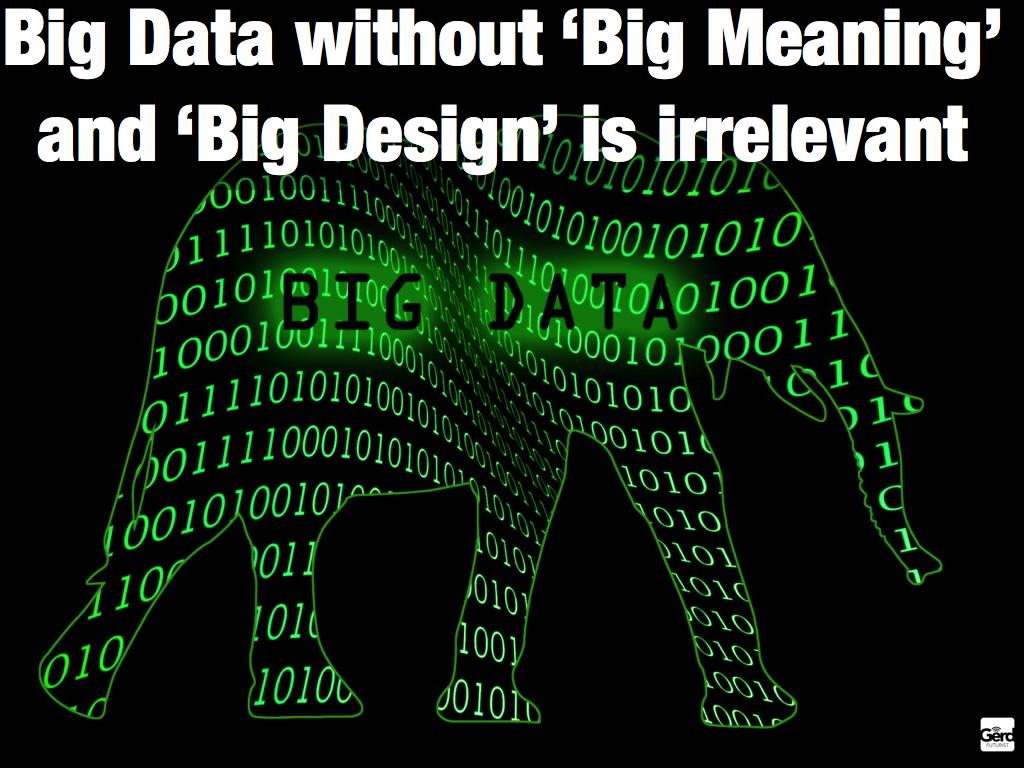 Big data and the future of journalism |  Gerd Leonhard   | flickr
