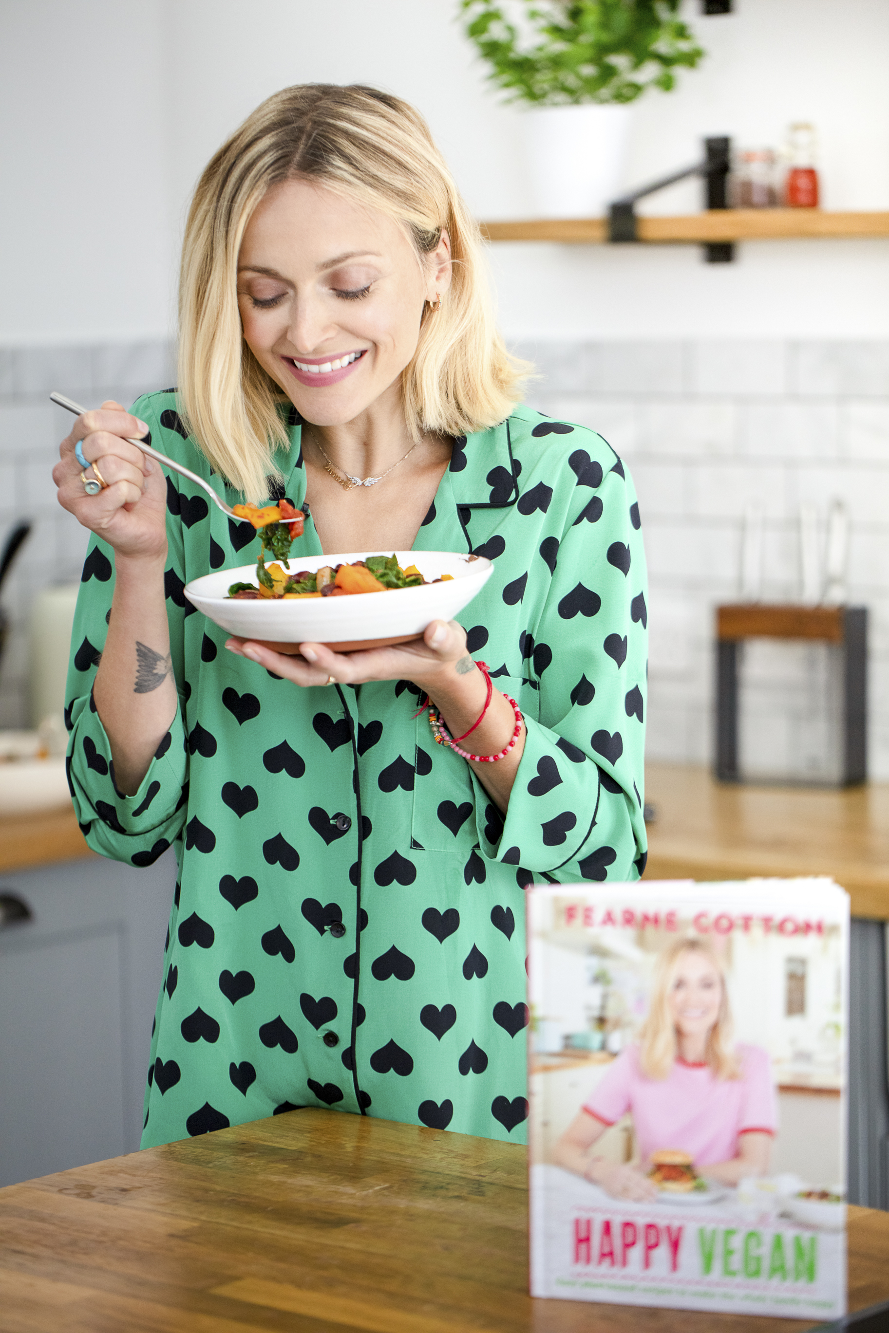 Fearne Cotton 'Happy Vegan' Shoot - London, 2019