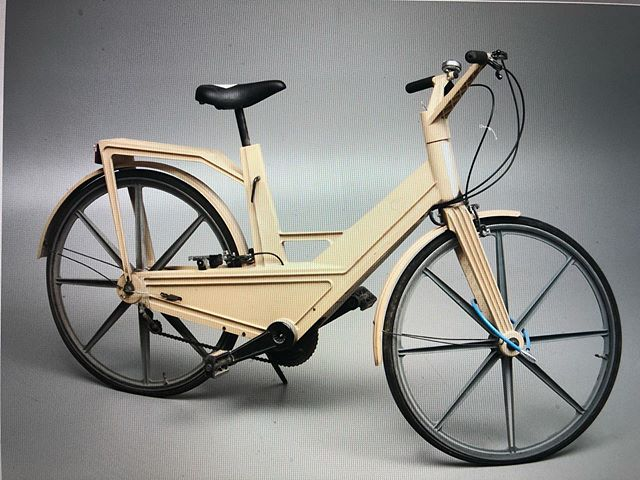 Itera Plastic bicycle 1981 made by Volvo ca. 30000 were made this bicycle was described as heavy , flexible , fragile and is named as one of the worst bikes ever made  #sweden #swedishdesign #iterabike #collageclassics