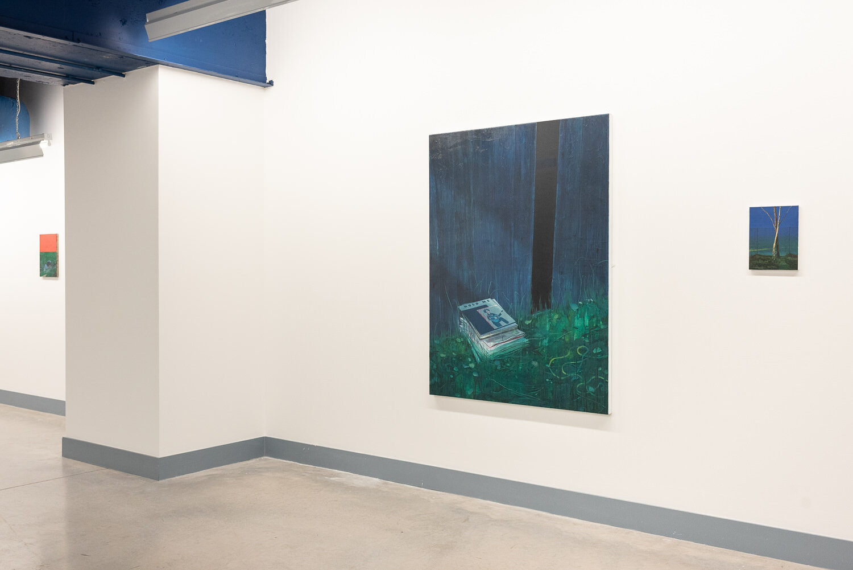 Future Present  installation, University of Ulster Gallery, Belfast, 2019