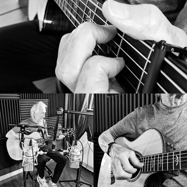 Tom Merrill recorded today at the studio, and it was a total joy. What great songs!  Happy weekend everybody!  #smileproductions #smile #guitar #acoustic #studio #music #recording