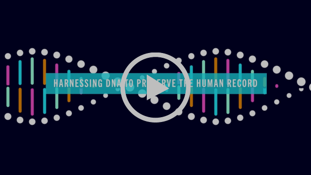 Our vision for making DNA-based storage a reality in 2019.