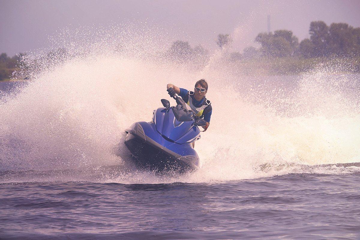 Jet Skiing -