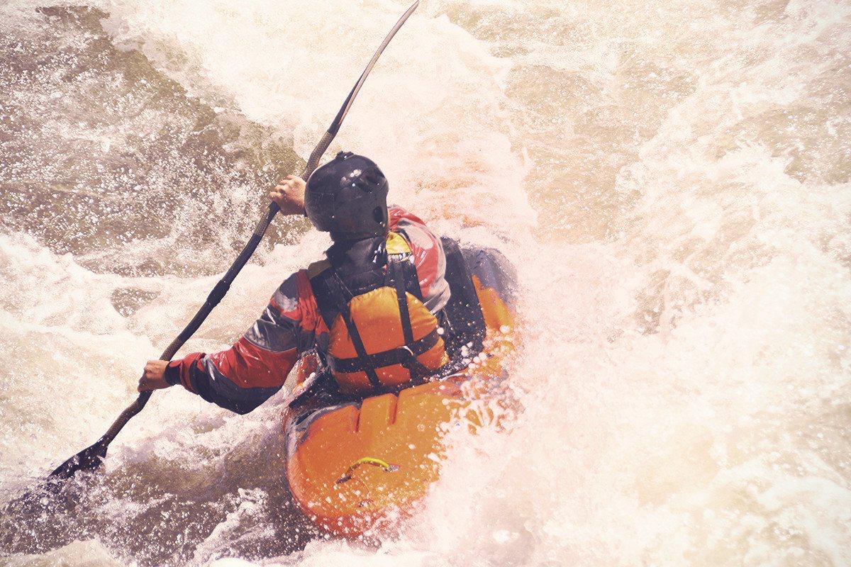 Kayaking -