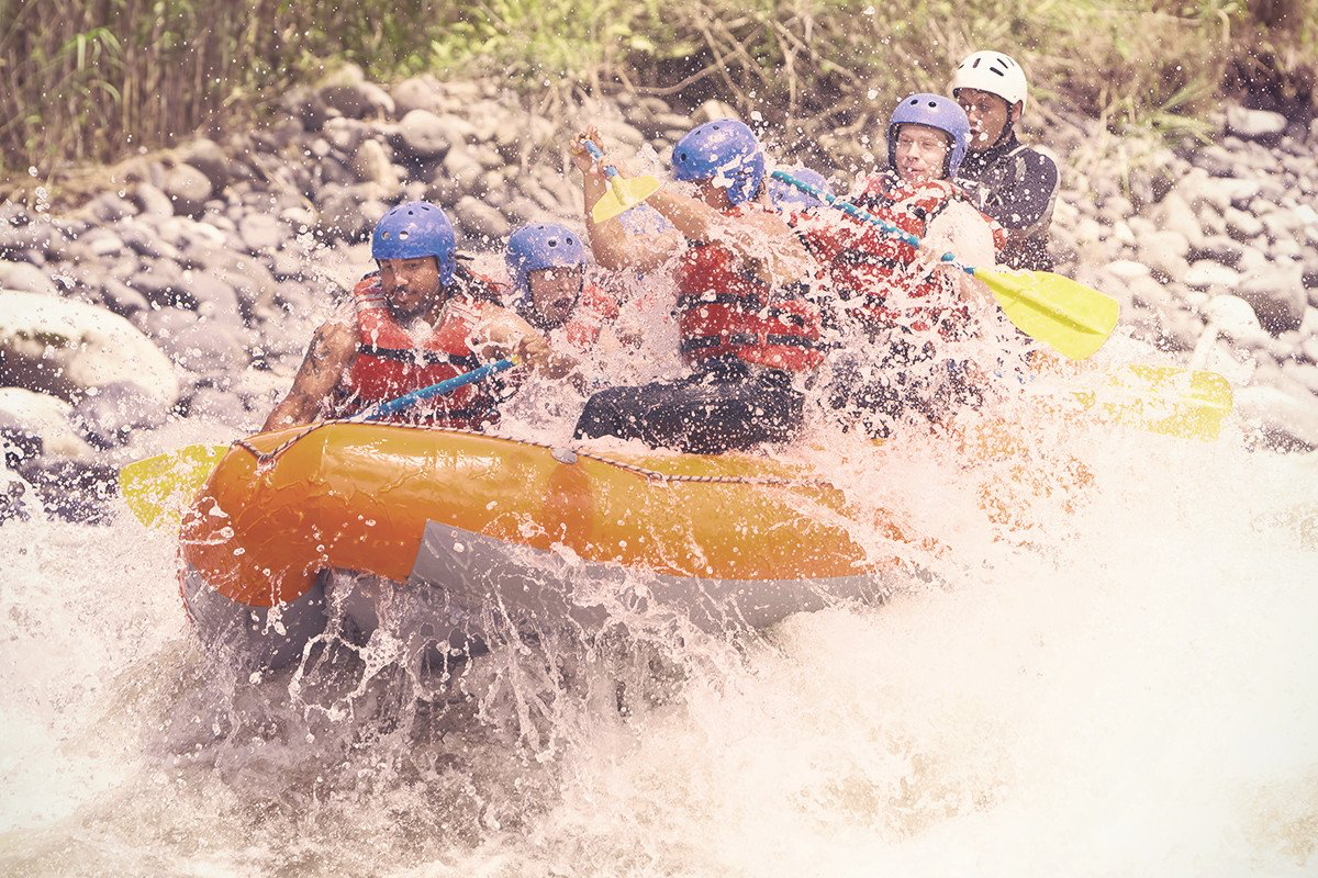 White Water Rafting -