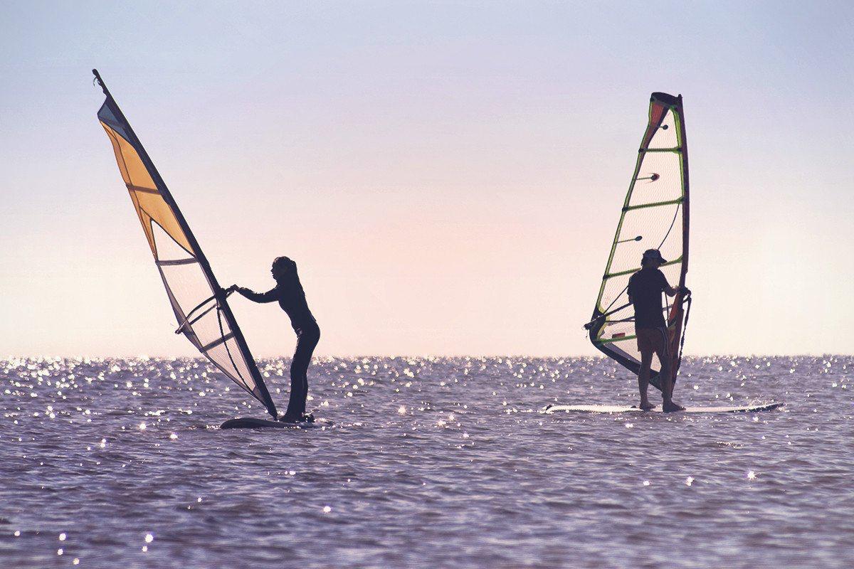 Wind Surfing -