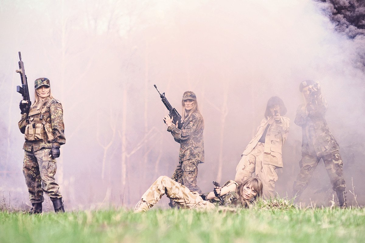 Airsoft - Airsoft is similar to paintball but with more of an enhanced military experience. March your troops into battle in one of these military simulated scenarios. You will be fully kitted out in realistic looking gear and machinery. Arrive there a group of Hens but leave there a band of sisters - unless you end up on opposite teams, then just remember its only a game!
