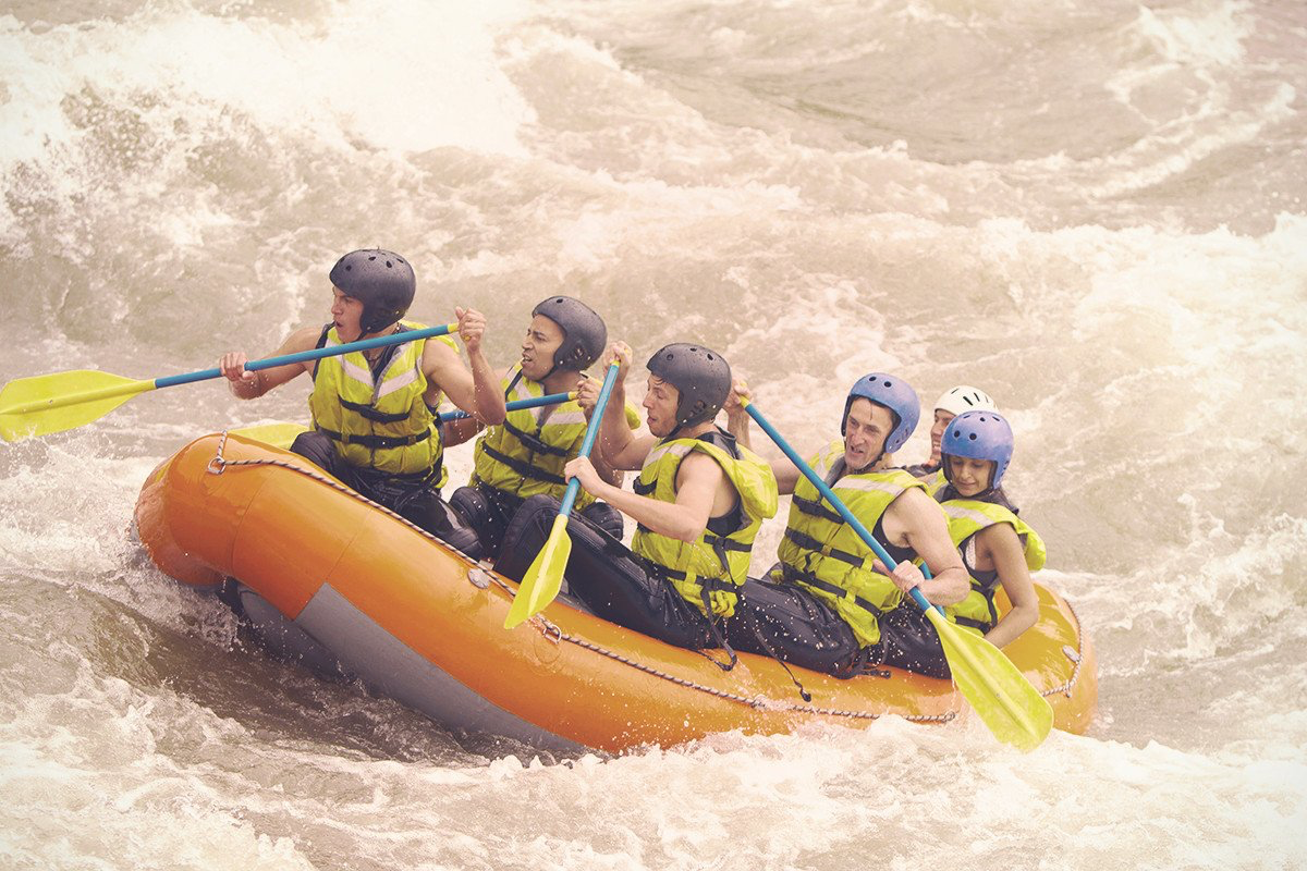 Water Skiing - White water rafting is a fabulously exhilarating experience for the thrill-seeking Bride. Work together to conquer the rapids, get your adrenaline pumping and feel invigorated at the end of this. White water rafting is the perfect way to form new friendships and strengthen existing ones.