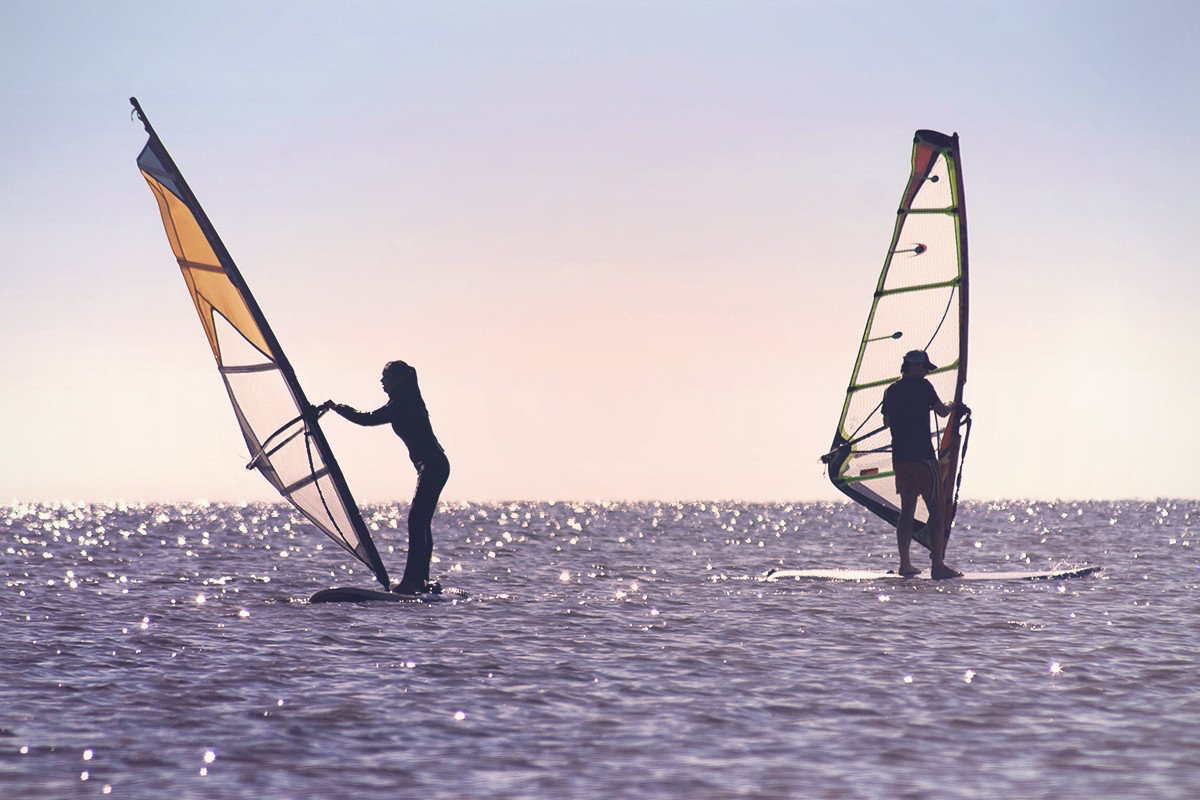 Windsurfing - Take it to the waves with the sport that combines elements of surfing and sailing. Get to grips with the sport then let the games begin!