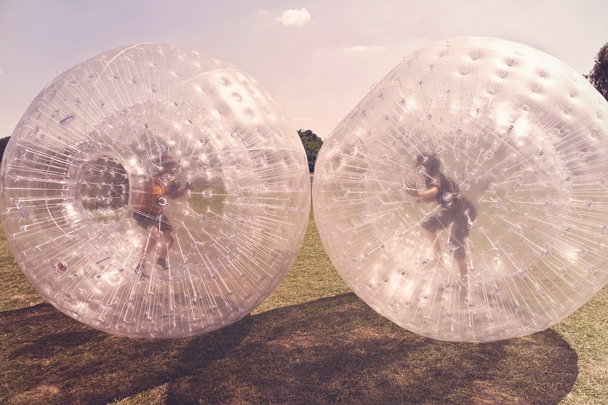 Zorbing - Hamster experience day, otherwise known as zorbing! Get securely strapped into the giant sphere and go rolling down trails reaching speeds of up to 30kmph it is definitely one of the craziest experiences you will ever try. Experience rolly pollies like never before as you make your way down screaming and laughing your head off. We can bet that once you get to the bottom you will want to keep going again and again!