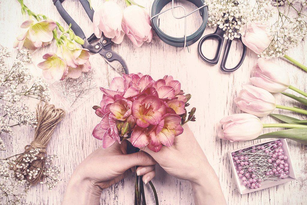 Flower Arranging -